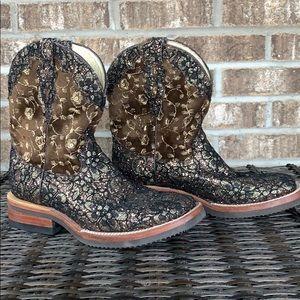 Ferrini Cowboy Boots Women's 8